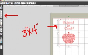 create a 3x4 journal card shape