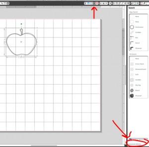 select advanced sketch options