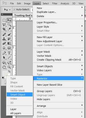 choose layer to erase