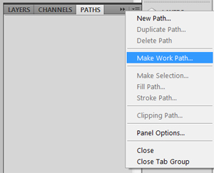 make a work path