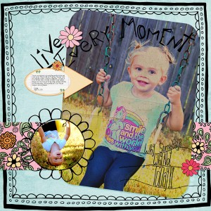 selection tools digital scrapbook layout