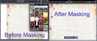 using masks in keynote on iPad