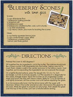 digital recipe cards