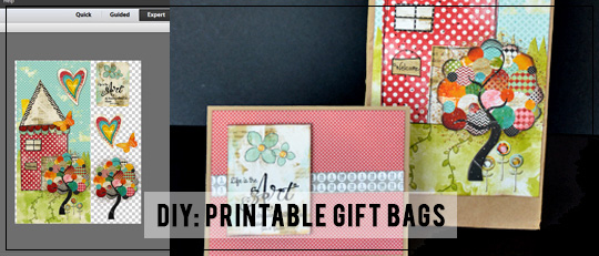image relating to Printable Gift Bags referred to as Do-it-yourself: Printable Reward Baggage