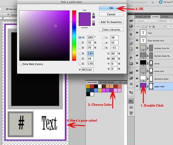mini album choose color
