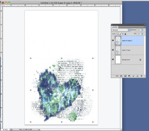 merge and flatten image layers