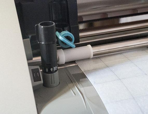 set blade depth for stamp cutting