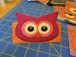 printable owl place markers