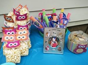 printable birthday party treat bags