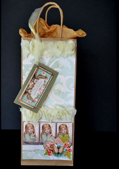 vintage hybrid gift bag