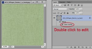 expand layer panel