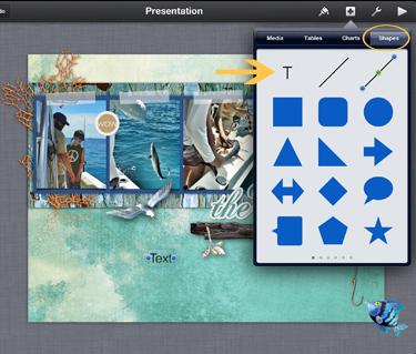 keynote shapes window