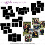stack them digital scrapbook photo templates