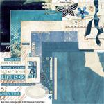 blue linen digital kit