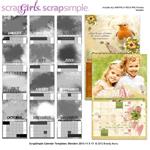 blender calendar templates