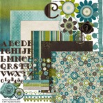 curious digital scrapbook kit