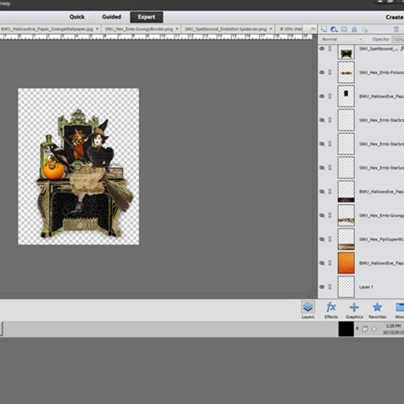 halloween-centerpiece-invitation-create-layout