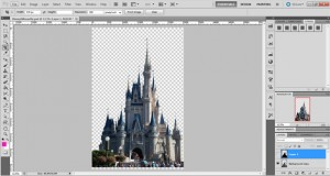 extract background in photoshop
