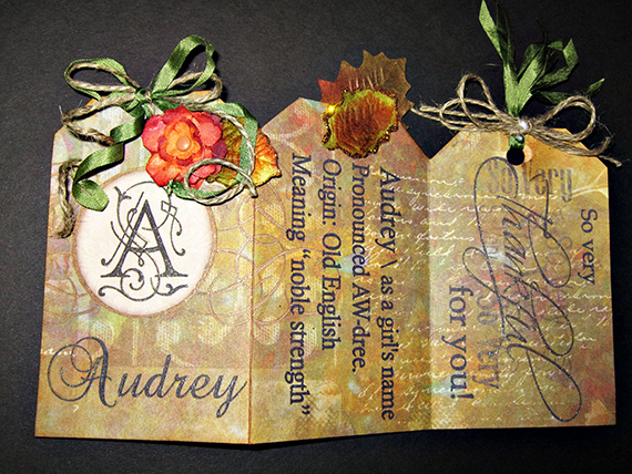 thanksgiving place card front