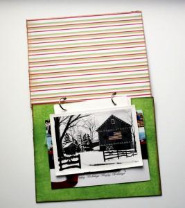 christmas card album assemble