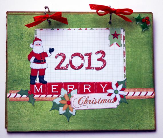 christmas card mini album