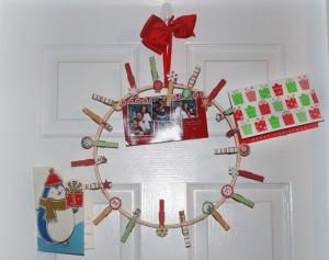 christmas card displays samples
