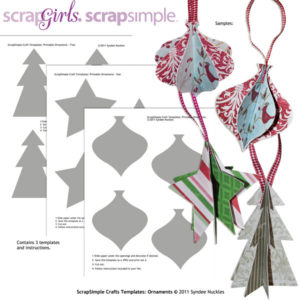 Craft Ornament Template