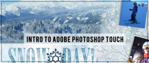Intro to Adobe Photoshop Touch