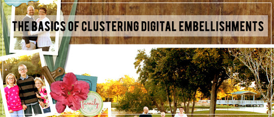 The Basics of Clustering Digital Embellishments