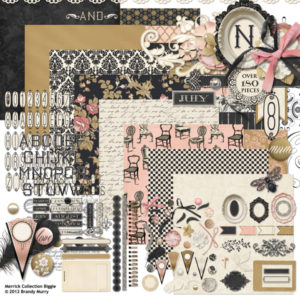 Merrick digital scrapbooking kit