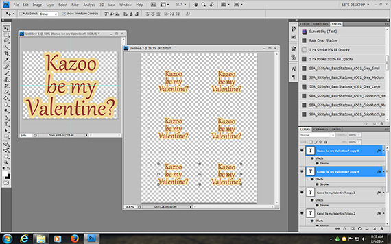 valentines with kazoo surprise printable