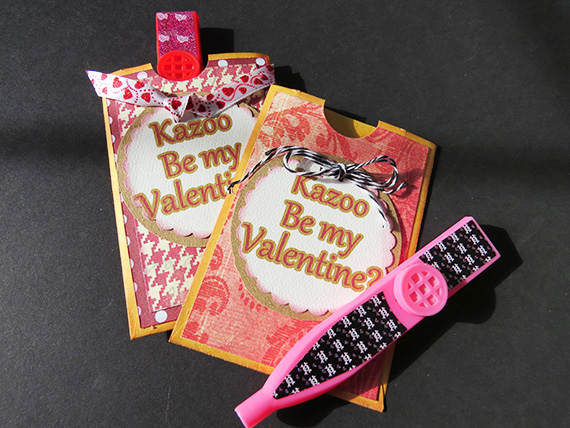 valentines with kazoo surprise