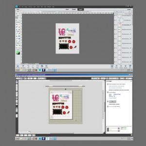 print and cut card