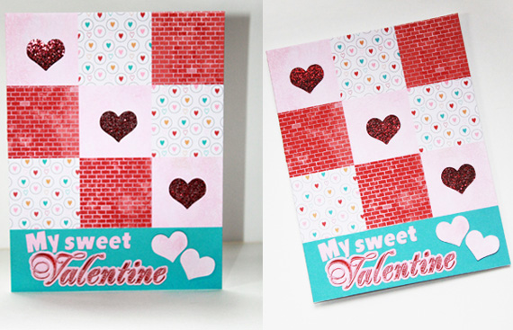 valentines card sample