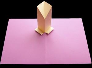 pedestal pop-up mechanism