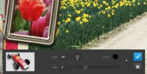 use slider to adjust settings