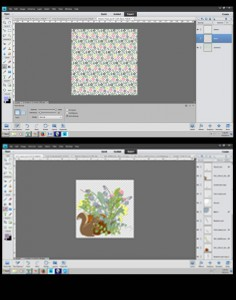 create printable elements in ps