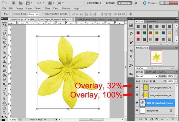 print digital embellishments