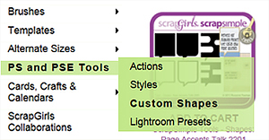 custom shapes tutorial boutique
