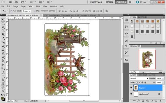 create printable artwork