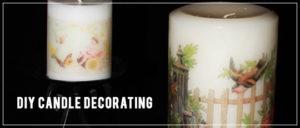 DIY: Candle Decorating