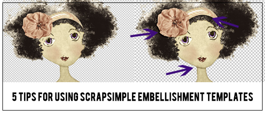 5 Tips for Using ScrapSimple Embellishment Templates