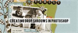 Adding a Drop Shadow in Photoshop