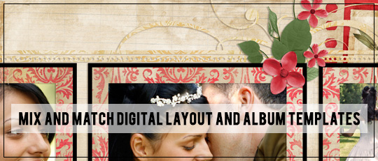 Mix and Match Digital Layout and Album Templates