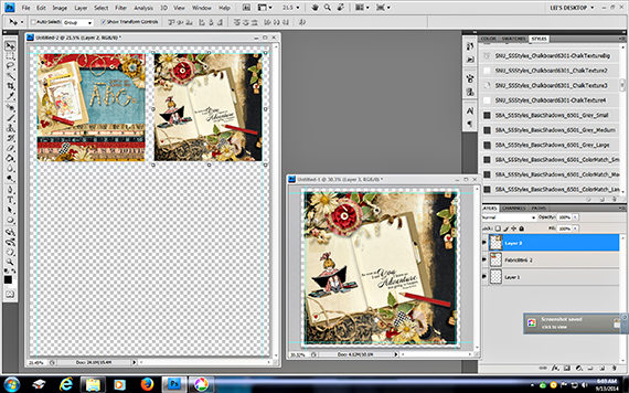 create printables in ps