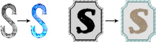 Example of ScrapSimple Alpha Template