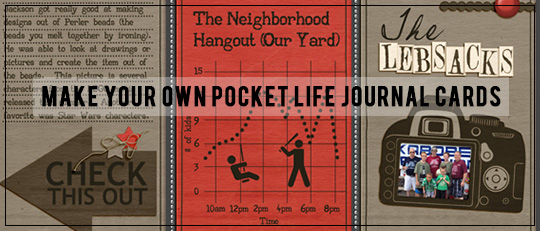Make Your Own Pocket Life Journal Cards!