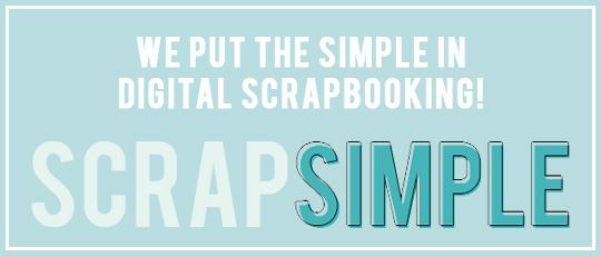 ScrapSimple Templates – Put the Simple in Digital Scrapbooking!