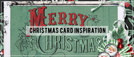 Christmas Card Inspiration & a FREEBIE!