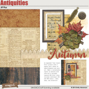 JIF Plus Antiquities